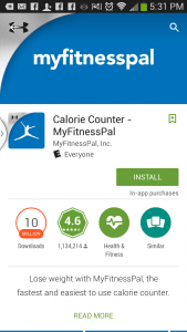 My Fitness Pal Resource