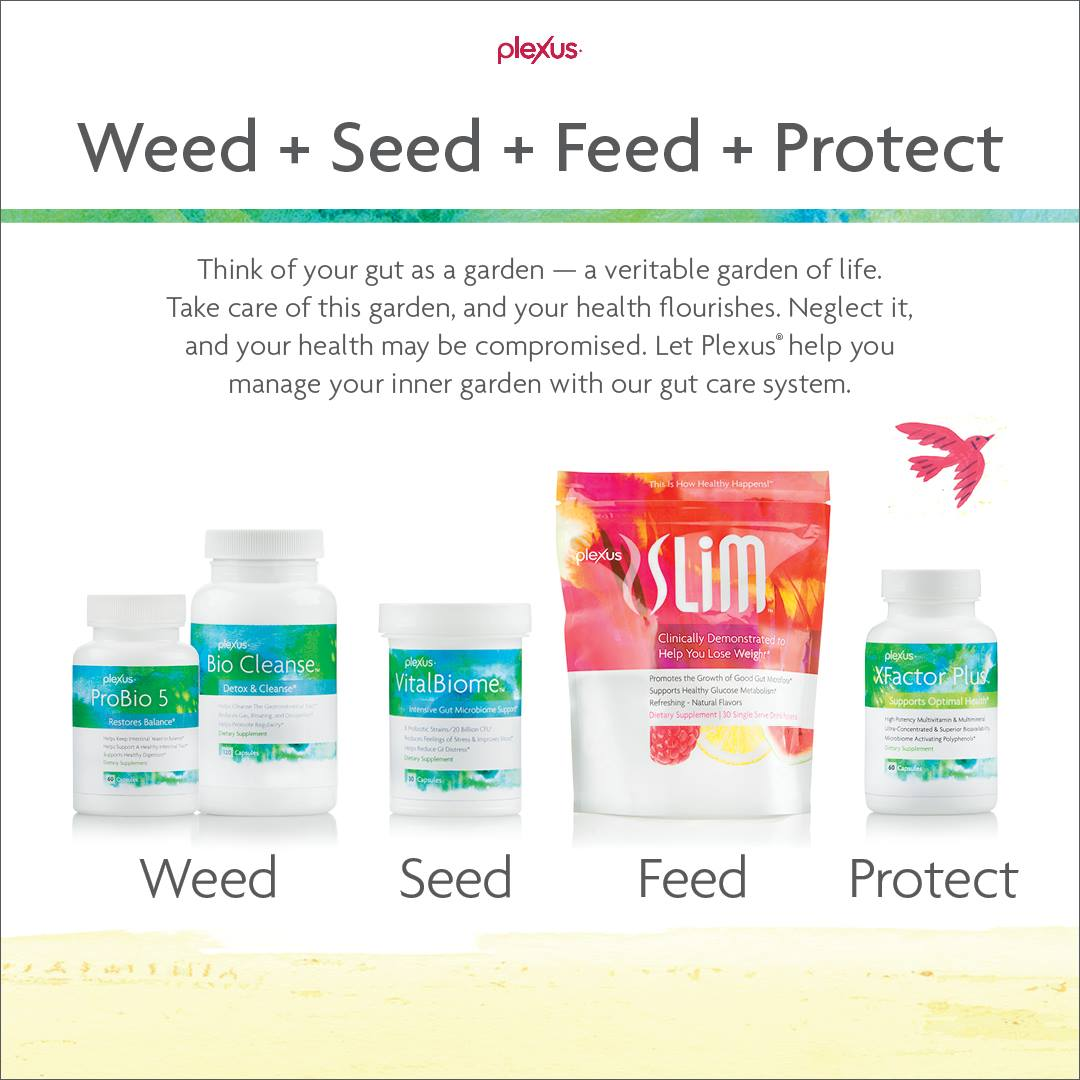 Weed Seed Feed Protect Gut Health